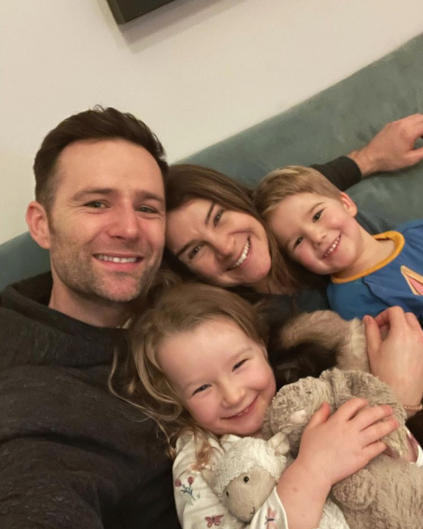 McFly stars Harry and Izzy are also the parents of their 4-year-old daughter Lola.