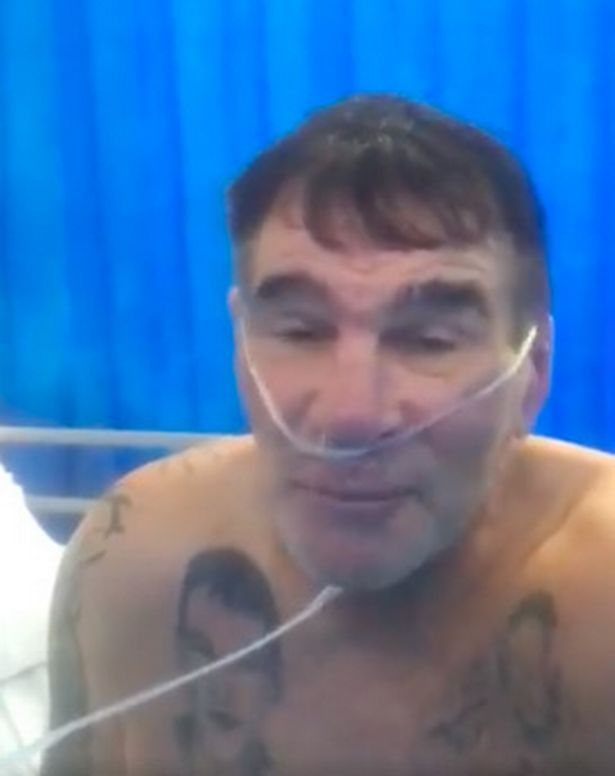 Paddy Doherty begged fans to take the coronavirus seriously.