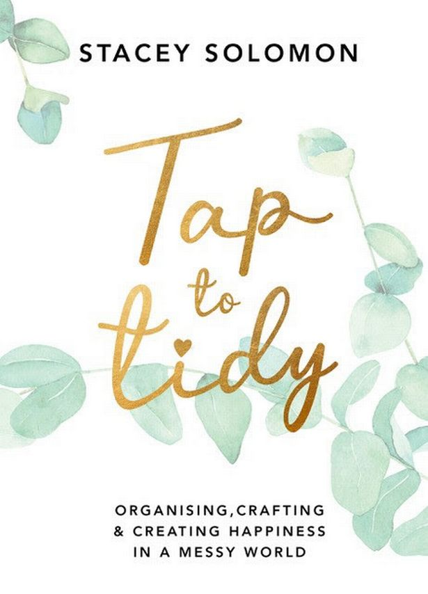 Stacey Solomon's Tap To Tidy will be posted on March 4th.
