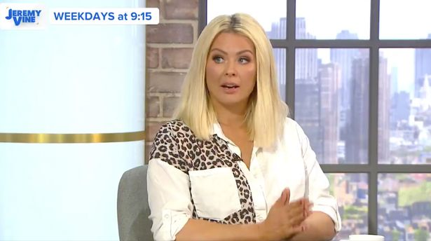 Nicola McLean is struggling with anorexia and bulimia during the obstruction.  'I have to go to the hospital'