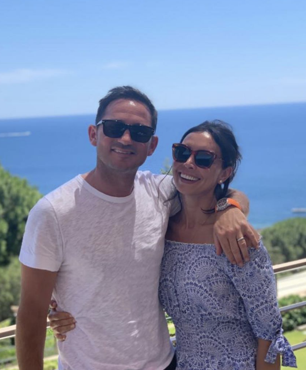 Christine and Frank Lampard are waiting for their second child together.
