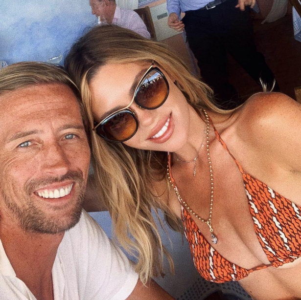 Abbey is on vacation in Italy with her husband Peter Crouch.