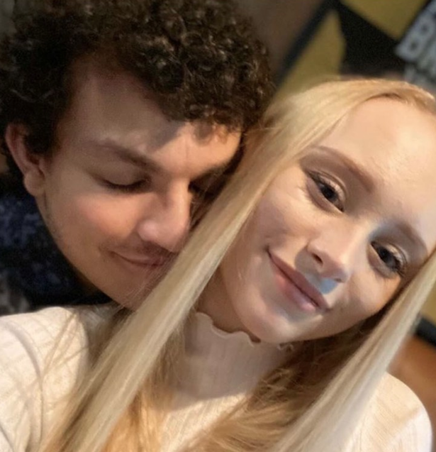 Alex is now dating fellow actor Mollie.