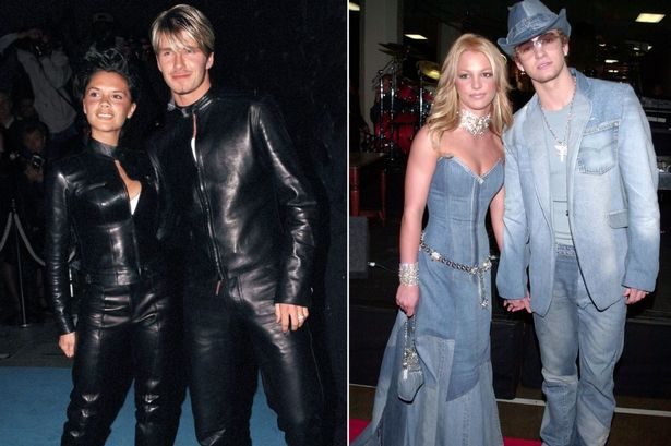 Here are some celebrities who love twinning with partners.