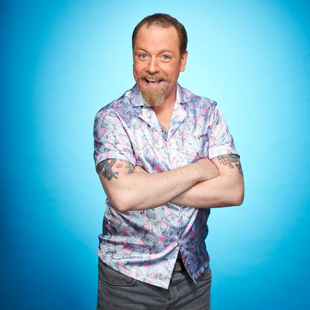 Rufus Hound had to withdraw from Dancing on Ice after coming into contact with someone who had the coronavirus.