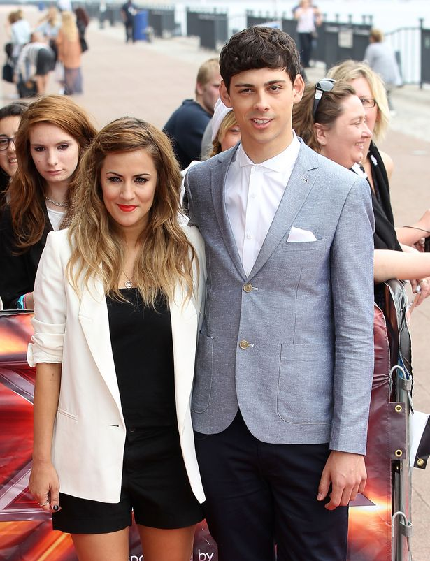 Matt and Caroline formed a close bond after hosting The Xtra Factor together.