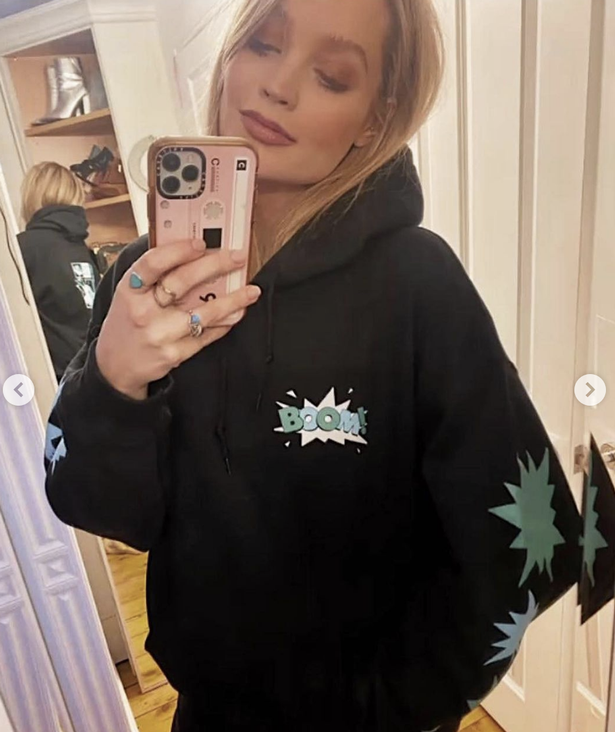 Laura Whitmore showed support for the cause in her Instagram feed.
