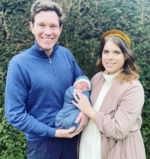 Princess Eugenie announced the name she and her husband Jack Brooksbank gave to their newborn son.