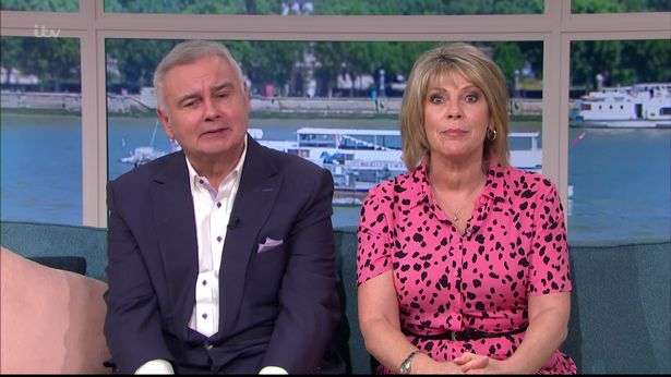 Ruth and Eamonn Holmes will be returning as hosts this morning next week.