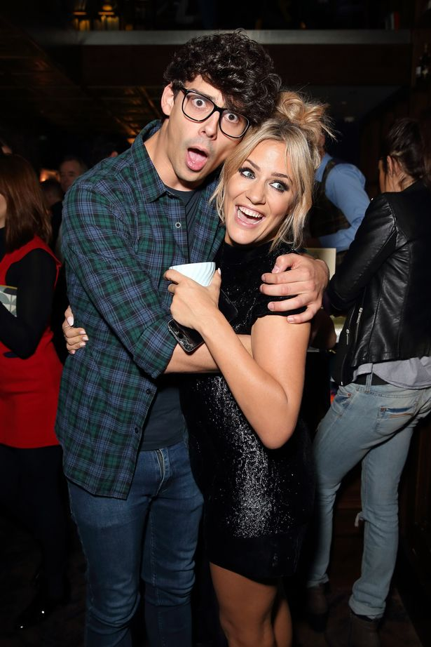 Matt Richardson shared the sadness that Caroline Flack would not see his Dancing on Ice debut.