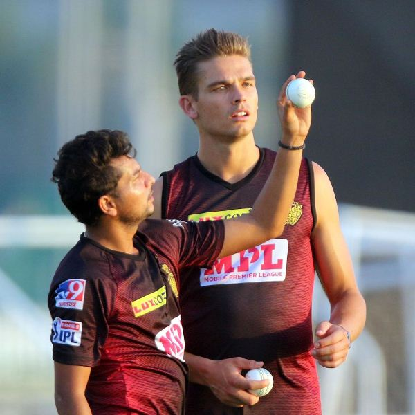 Chris Green Gets Bowling Tips From Kuldeep Yadav During Practice Sessions