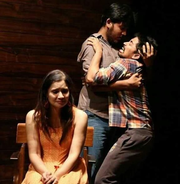 Tanya Purohit during a play
