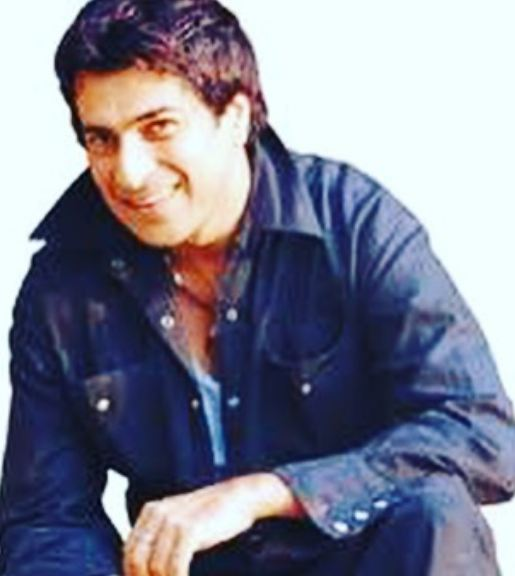 An old photo of Sharad Kapoor