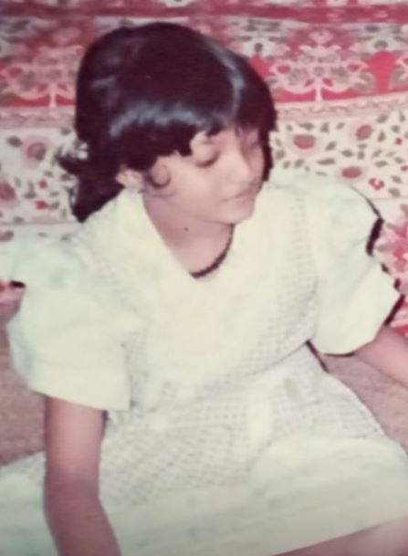 Soorya Menon's childhood photo